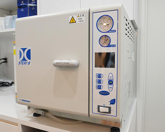世界最高水準の滅菌機 クラスB<br>オートクレーブ(高圧蒸気滅菌器)