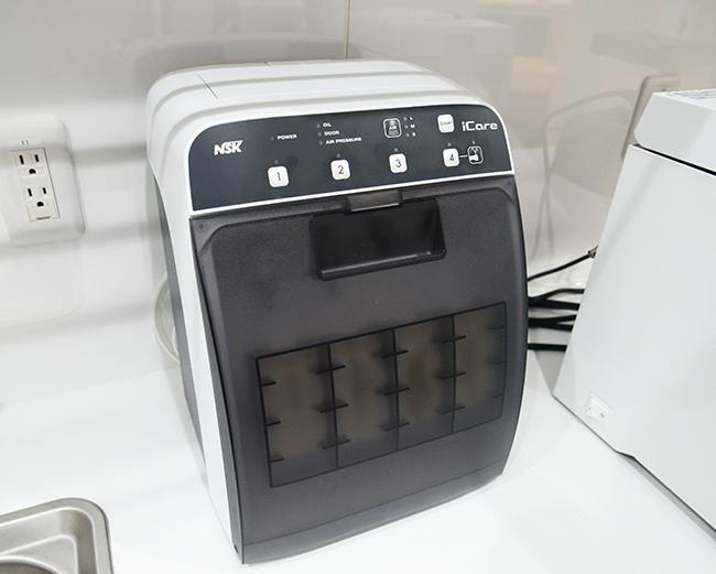 ハンドピース自動洗浄システム